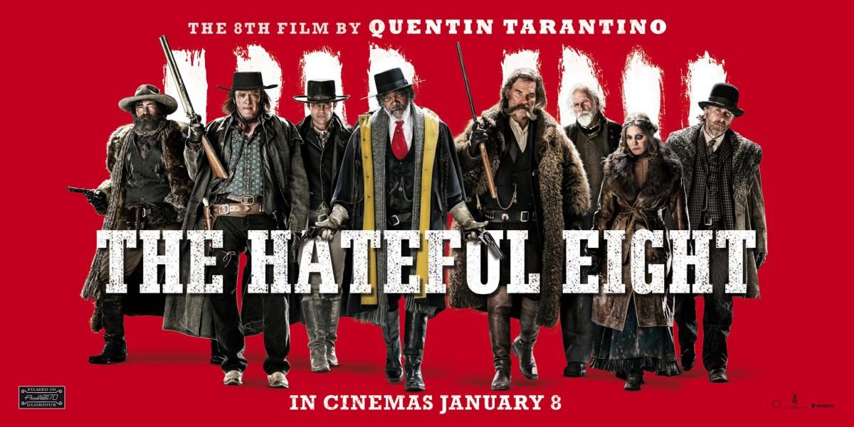 Movie, The Hateful Eight(美) / 八惡人(台) / 冰天血地8惡人(港) / 八恶人(網), 電影海報, 英國, 橫式