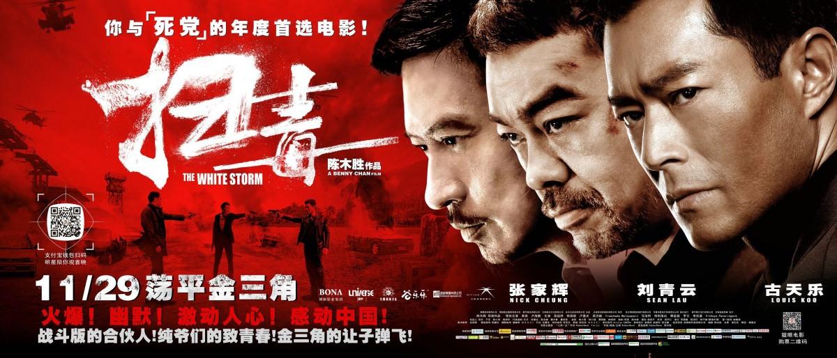 Movie, 扫毒(中國.香港) / 掃毒(台.港) / The White Storm(英文), 電影海報, 中國, 橫式