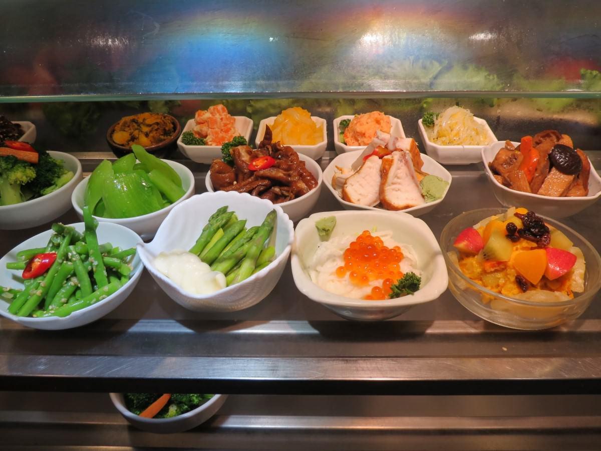 小巷亭日本料理, 自助吧台