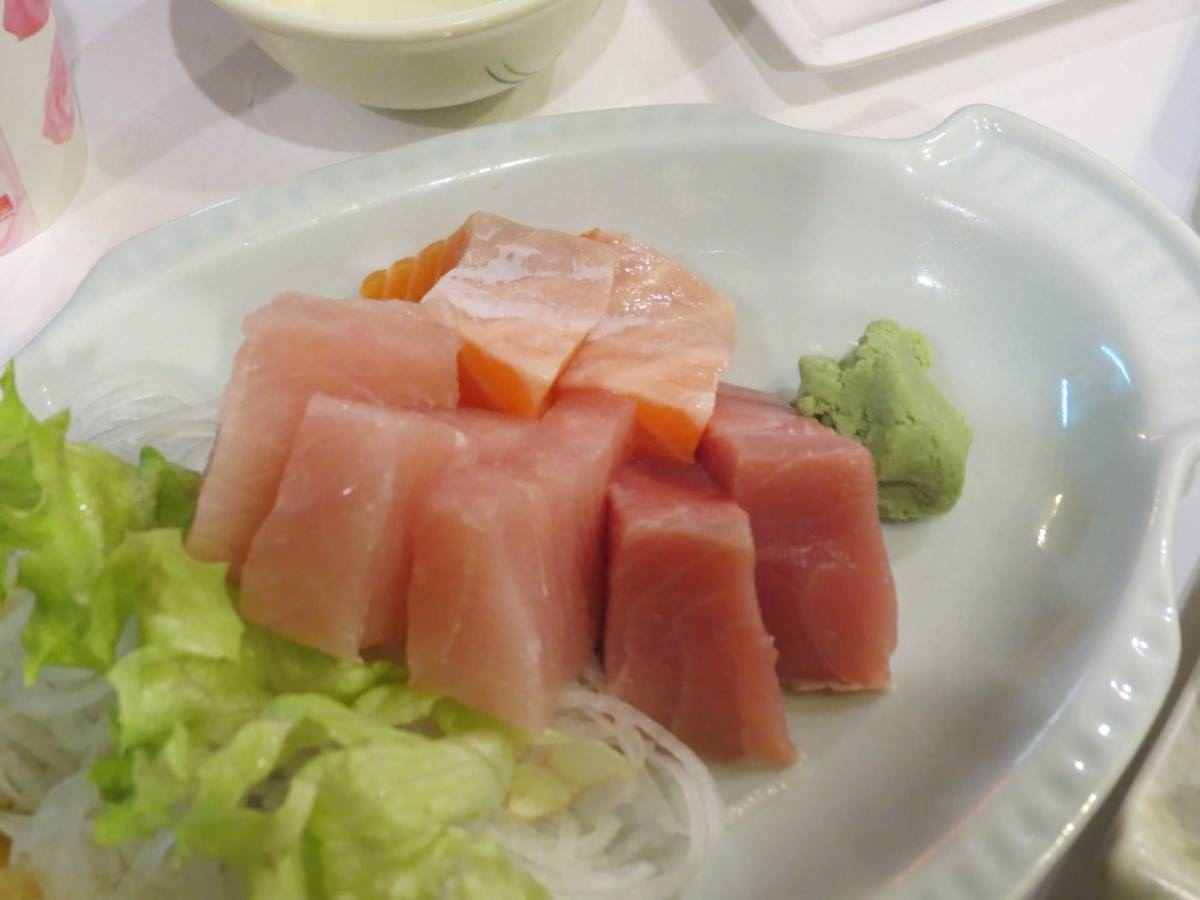 小巷亭日本料理, 餐點