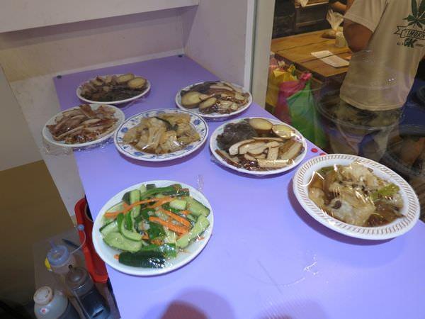 巷口大腸麵線, 餐點, 小菜