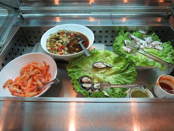 成吉思汗蒙古烤肉, 用餐環境, 海鮮區