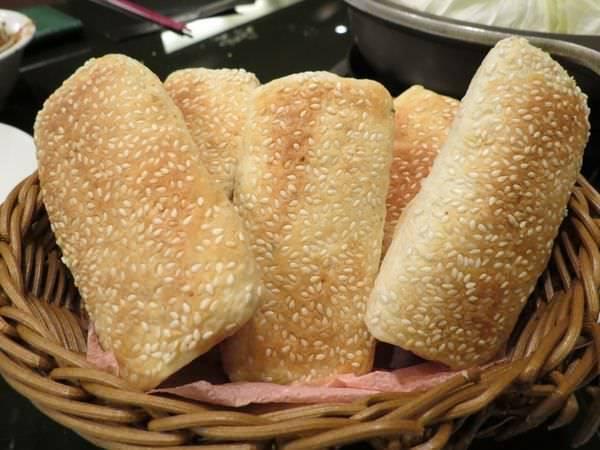 成吉思汗蒙古烤肉, 餐點, 燒餅