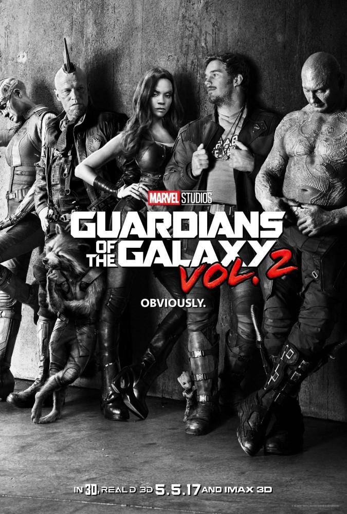 Movie, Guardians of the Galaxy Vol. 2(美國) / 星際異攻隊2(台) / 银河护卫队2(中) / 銀河守護隊2(港), 電影海報, 美國, 預告海報