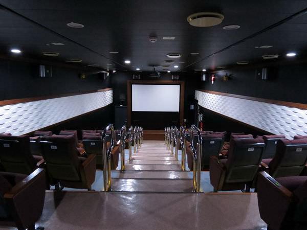 臺馬之星, 電影院