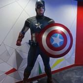 喜滿客京華影城, 模型, 美國隊長