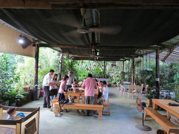 龍湖山生態農莊, 用餐空間