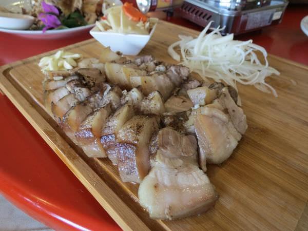 仙湖休閒農場, 餐點, 鄉野鹹豬肉