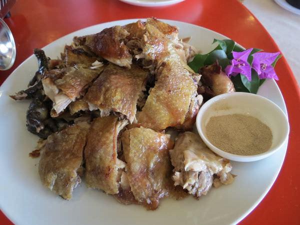 仙湖休閒農場, 餐點, 烤雞