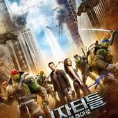 Movie, Teenage Mutant Ninja Turtles 2(美) / 忍者龜:破影而出(台) / 忍者神龟2:破影而出(中) / 忍者龜:魅影突擊(港), 電影海報, 韓國˙