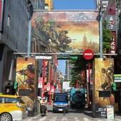 Movie, Teenage Mutant Ninja Turtles 2(美) / 忍者龜:破影而出(台) / 忍者神龟2:破影而出(中) / 忍者龜:魅影突擊(港), 廣告看板, 西門町電影街