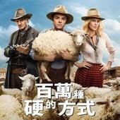 Movie, A Million Ways to Die in the West(美) / 百萬種硬的方式(台) / 奪命西(港) / 死在西部的一百万种方式(網), 電影海報