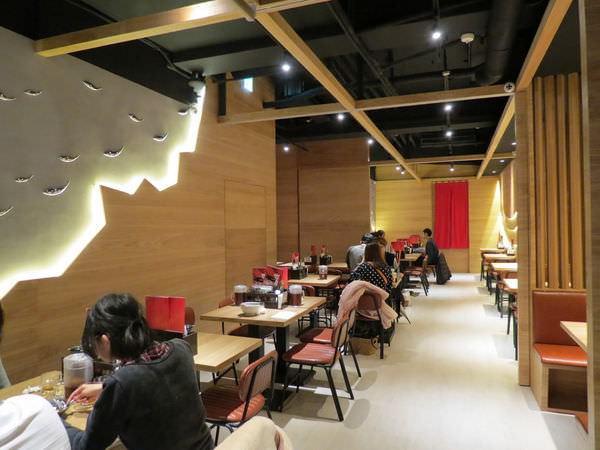 樂麵屋@站前店, 用餐空間, B1F