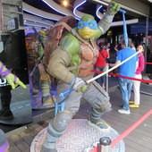 Movie, Teenage Mutant Ninja Turtles 2(美) / 忍者龜:破影而出(台) / 忍者神龟2:破影而出(中) / 忍者龜:魅影突擊(港), 廣告看板, 模型, 樂聲影城