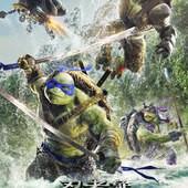 Movie, Teenage Mutant Ninja Turtles 2(美) / 忍者龜:破影而出(台) / 忍者神龟2:破影而出(中) / 忍者龜:魅影突擊(港), 電影海報, 台灣
