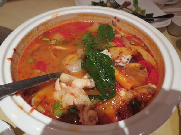 湄河餐廳, 酸辣海鮮湯