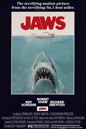 Movie, Jaws / 大白鯊 / 大白鲨, 電影海報
