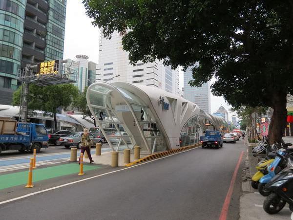 台中BRT科博館站, 台灣大道二段