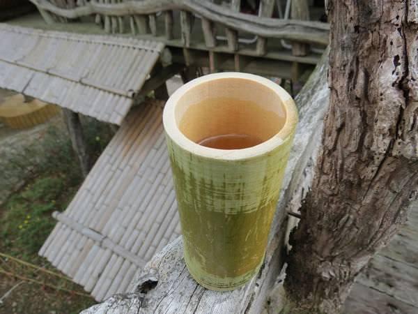 比亞外部落, 桃園縣, 復興鄉, 竹子茶杯