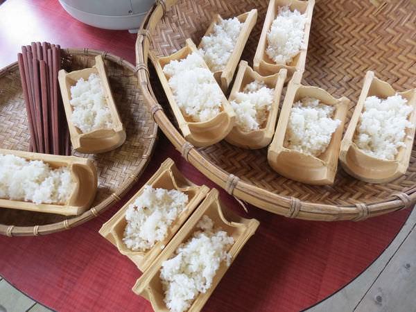 比亞外部落, 桃園縣, 復興鄉, 風味餐, 竹筒裝飯
