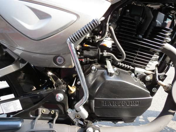 哈特佛(HartFord), 灰狼 150 Fi, 啟動桿