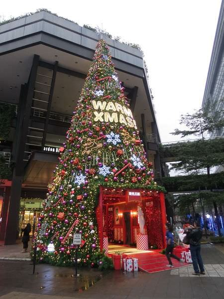 台北信義新天地(新光三越), 2013年, 聖誕節