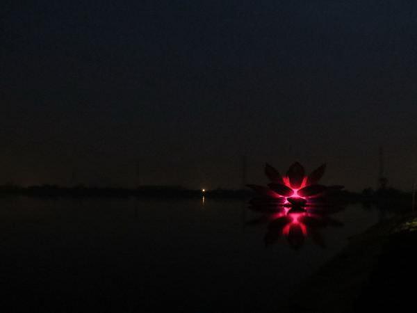 桃園地景廣場藝術節, 會呼吸的花, 過嶺58號池