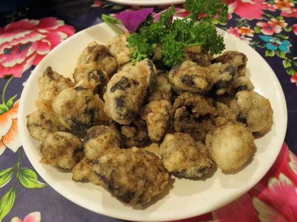 陜西秦味館, 酥炸蕈菇