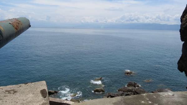 龜山島之旅, 軍事坑道