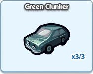 SimCity Social, Green Clunker