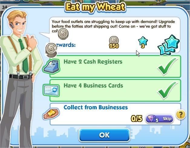 SimCity Social, Eat my Wheat
