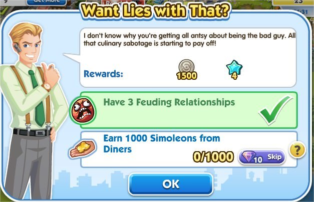 SimCity Social, Want Lies with That?