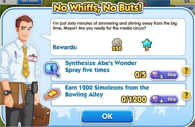 SimCity Social, No Whiffs, No Buts!