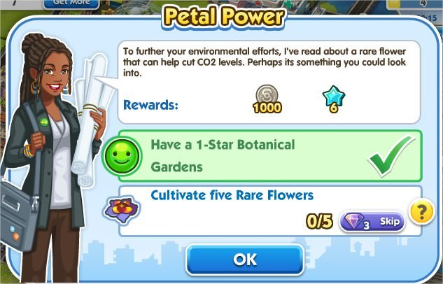 SimCity Social, Petal Power