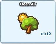 SimCity Social, Clean Air