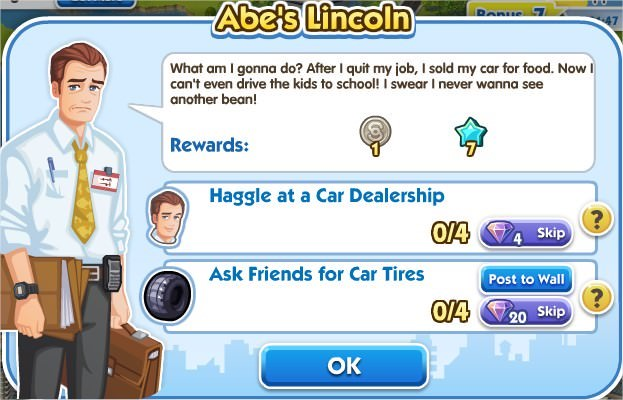 SimCity Social, Abe's Lincoln