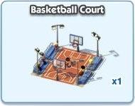 SimCity Social, Basketball Court