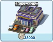 SimCity Social, Supermarket