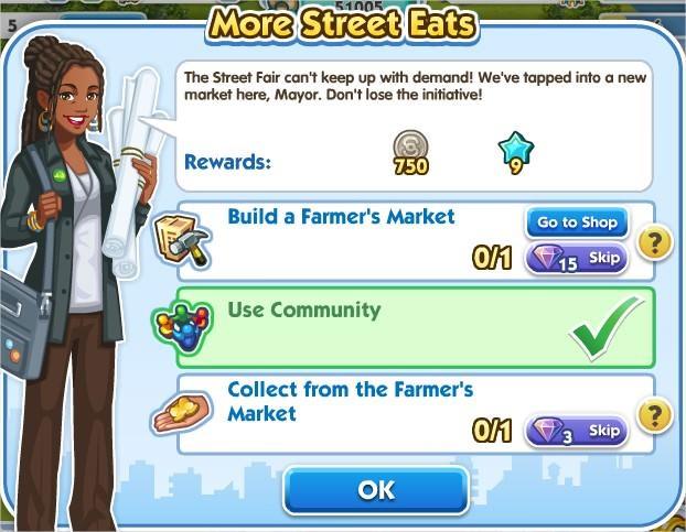 SimCity Social, More Street Eats