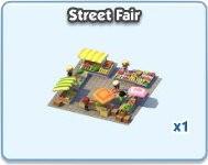 SimCity Social, Street Fair