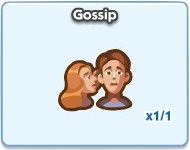 SimCity Social, Gossip