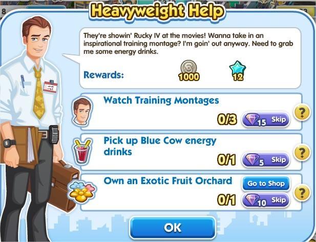 SimCity Social, Heavyweight Help