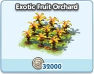 SimCity Social, Exotic Fruit Orchard