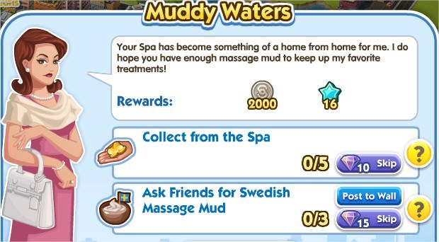 SimCity Social, Muddy Waters