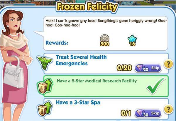SimCity Social, Frozen Felicity