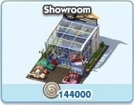 SimCity Social, Showroom