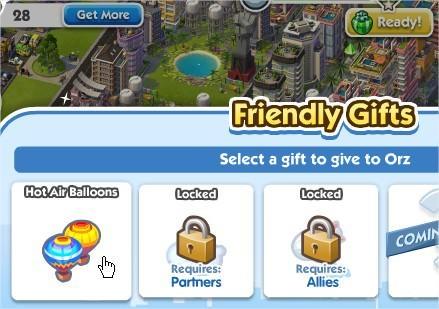 SimCity Social, Especially for You