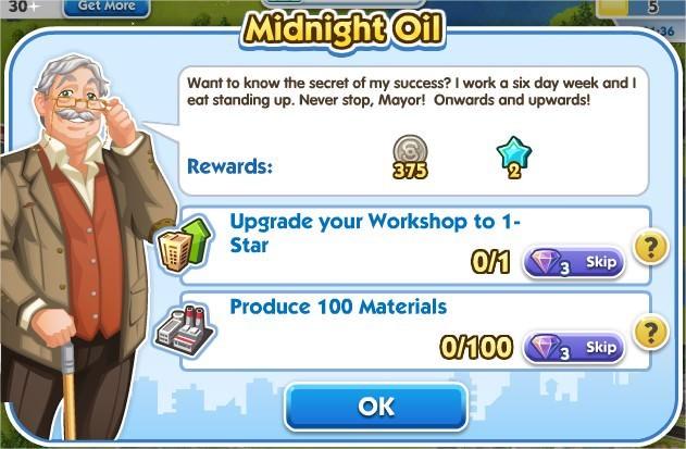 SimCity Social, Midnight Oil