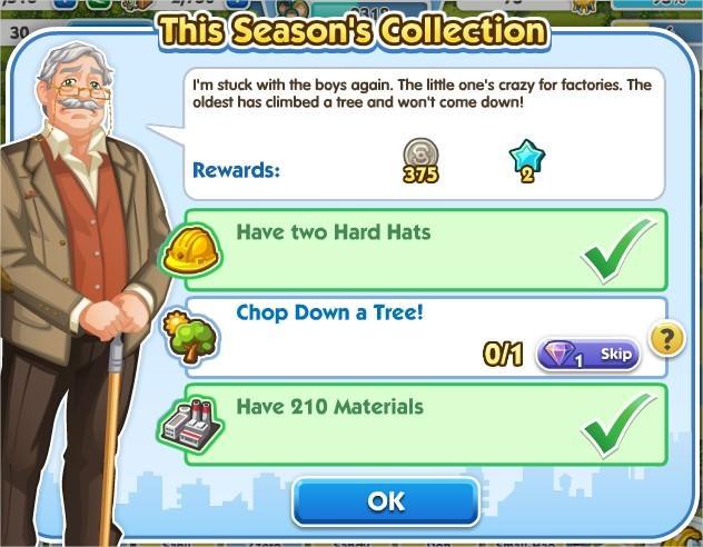 SimCity Social, This Season's Collection