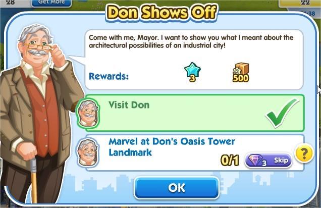 SimCity Social, Don Shows Off